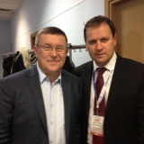 LLRA lyderis su EP nariu Zbigniewu Kuźmiuku