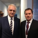 LLRA lyderis su Polska Razem pirmininku Jarosławu Gowinu
