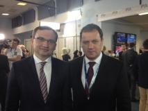 LLRA lyderis su Solidarna Polska pirmininku Zbigniewu Ziobro